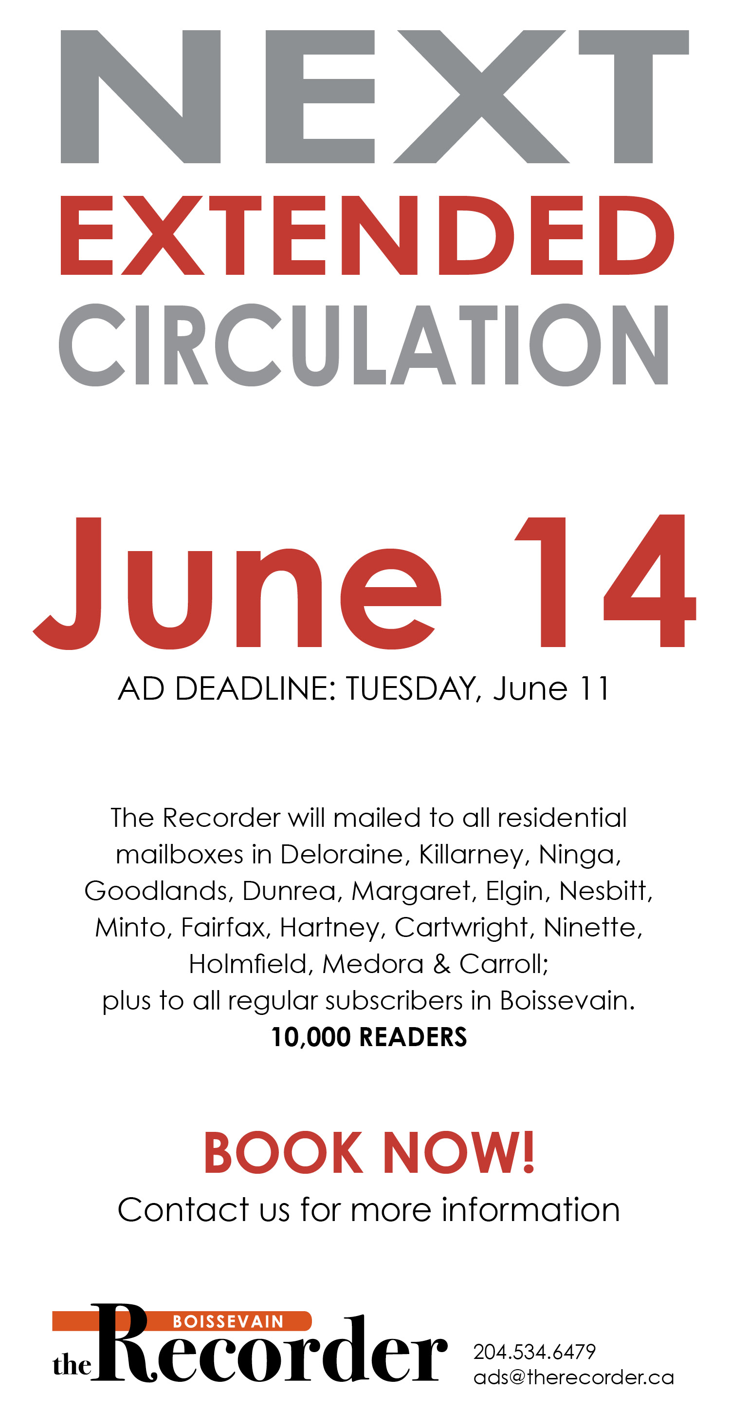 Recorder Extended June 2019