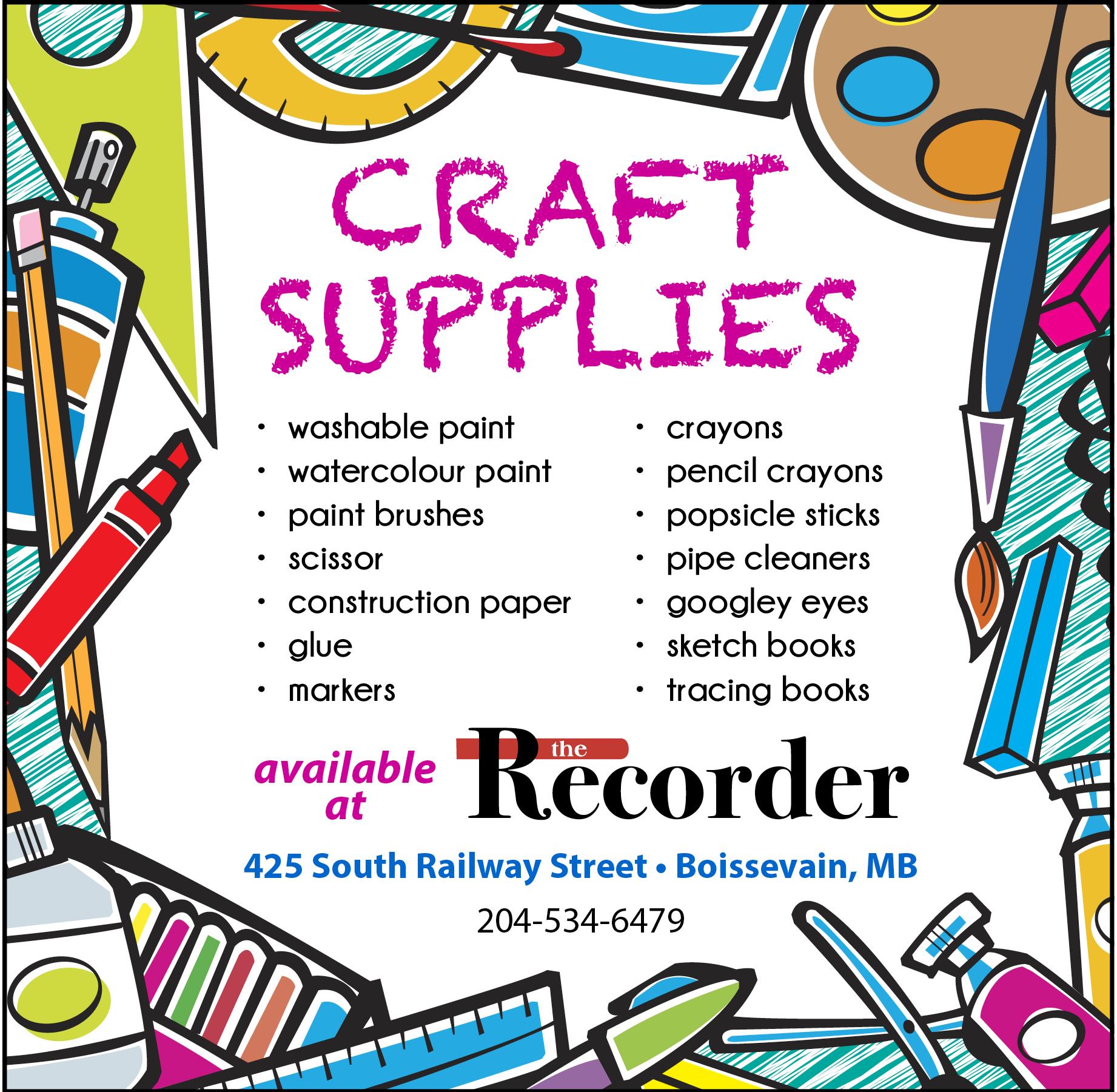 BR_craft supplies