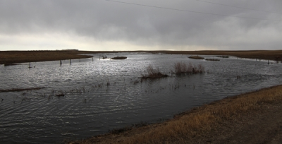Whitewater Lake continues to loom this spring