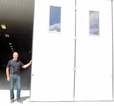 New door manufacturing business for Boissevain