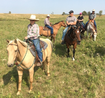 Hicks trail ride celebrates family ties