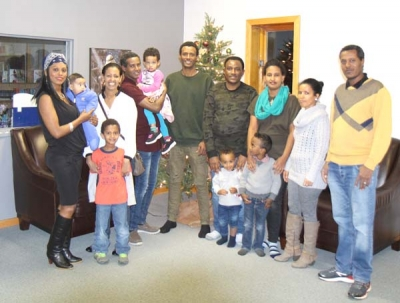 Family reunification goal of resettlement group