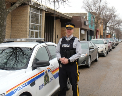 Career change brings new constable to Boissevain