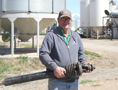 Farm equipment finds its home