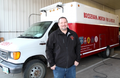 Boissevain-Morton receives $112,779 for rescue van