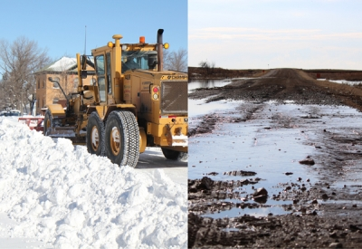 The price tag of snow removal and road repair